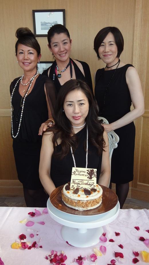 Motomi\'s Birthday at Princess room@Benoit Osaka Part 2_f0215324_133464.jpg