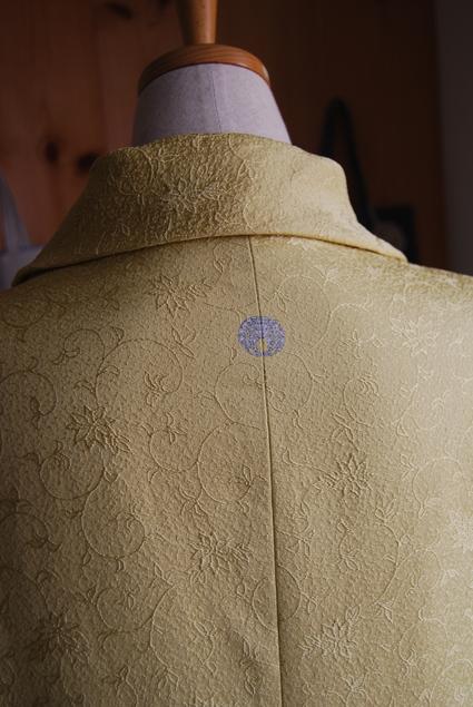 着物リメイク・ロールカラーのワンピース_d0127925_1781724.jpg
