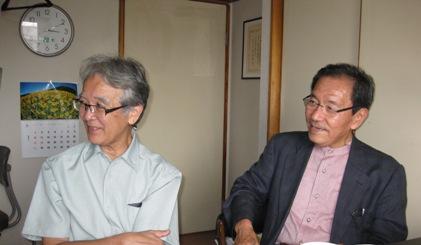 日本産業技術史研究会の堀尾氏らが来室される_b0115553_2365082.jpg