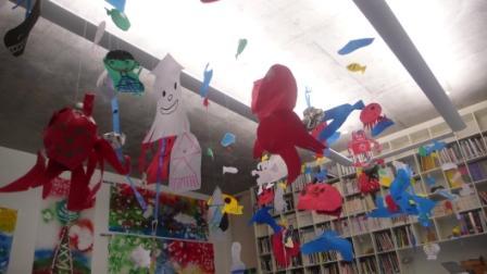 小学校児童創作作品展示会が始まりました!_c0216068_16332444.jpg