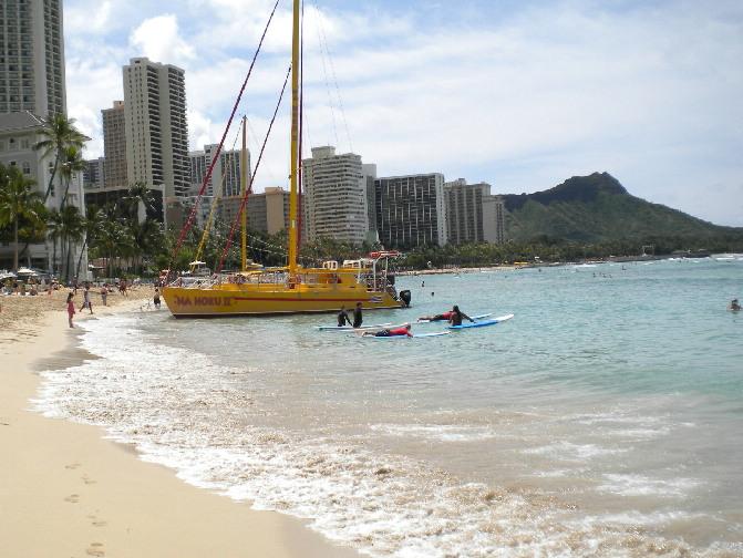 2011 1泊3日HAWAII旅行記~アウトリガー前ワイキキビーチ~_f0011498_1743347.jpg