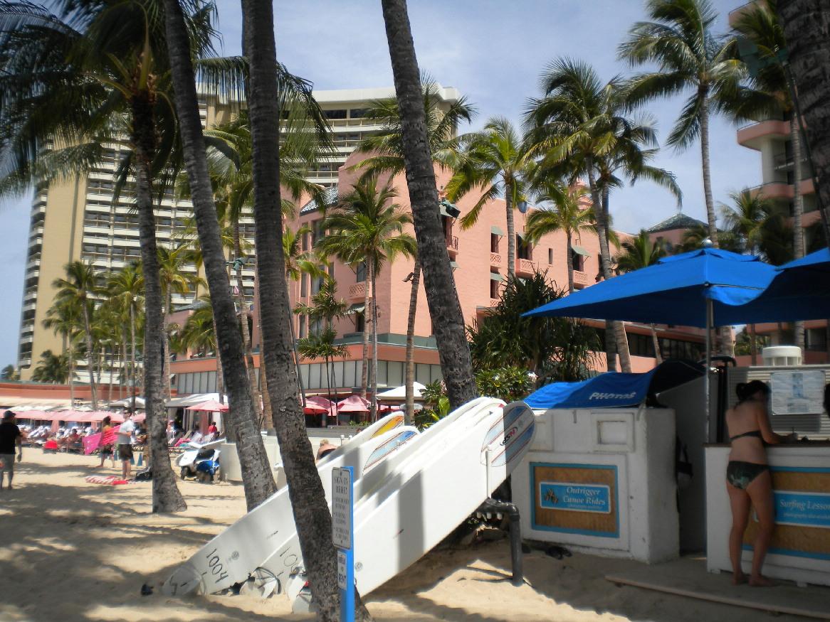 2011 1泊3日HAWAII旅行記~アウトリガー前ワイキキビーチ~_f0011498_1795065.jpg