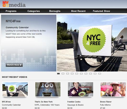 ニューヨーク市が制作する無料イベント紹介番組、NYC4Free_b0007805_1053857.jpg