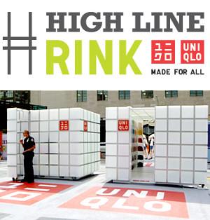 ニューヨークの空中公園ハイラインに、日本のユニクロがスケートリンクを提供中_b0007805_1363216.jpg