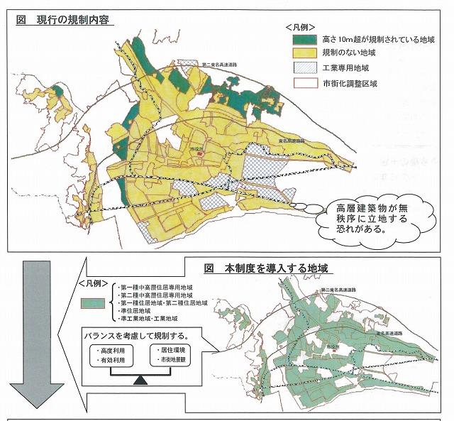 コンパクトシティに向けた第一歩・・・特別用途地区、高度地区制度の導入検討_f0141310_833146.jpg