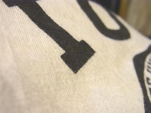 7/30(土)入荷!60'S 染み込みプリント カレッジ Tシャツ!_c0144020_13511293.jpg
