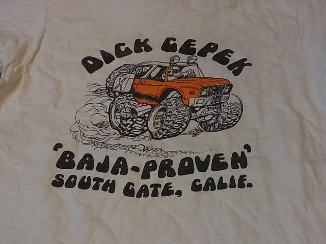 70'S BAJA 染み込みプリント Tシャツ!_c0144020_14192247.jpg