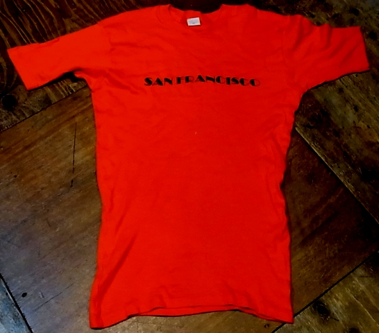 7/30(土)入荷!70'S サンフランシスコ Tシャツ!_c0144020_1484957.jpg