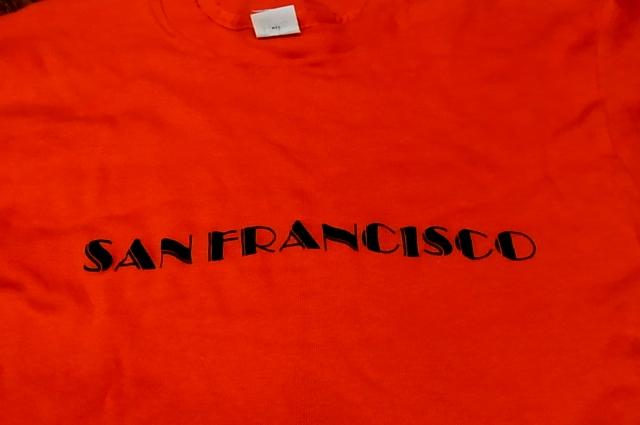 7/30(土)入荷!70'S サンフランシスコ Tシャツ!_c0144020_1485172.jpg