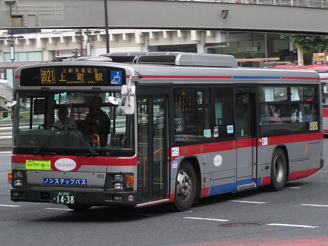 東急バス T650 : 旧路線バス車両...