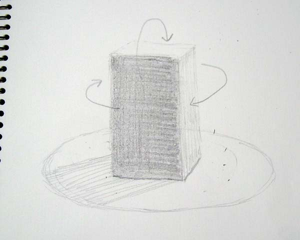 質感を描き分ける鉛筆デッサン/彫刻科_f0227963_2114165.jpg