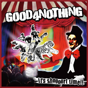 パンクロックバンドGOOD 4 NOTHING、超高速ピッチングマシーンと対決!?くだらなすぎるCMを配信中_e0197970_1204489.jpg