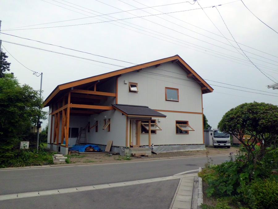 Y様邸「峰吉川の家」 施工中です。_f0150893_16423734.jpg