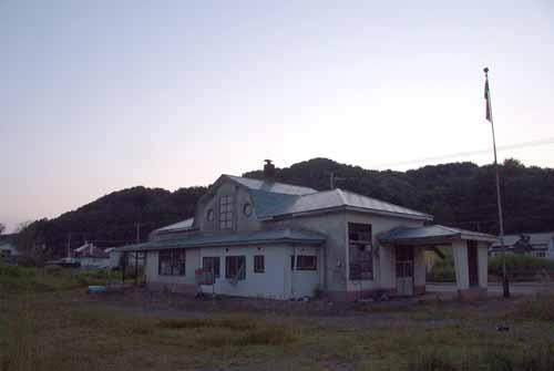 木造駅舎36・旧夕張鉄道・新二岐駅 _f0173596_13471281.jpg