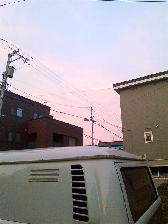ウッスラ夕焼け_b0199097_21155320.jpg