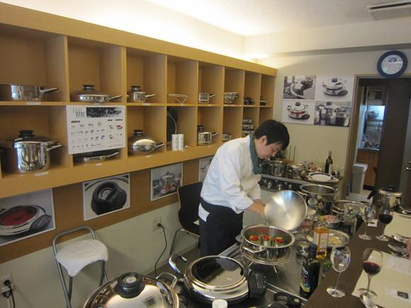 最高級の鍋で作ったイタリアン_c0125702_1265983.jpg