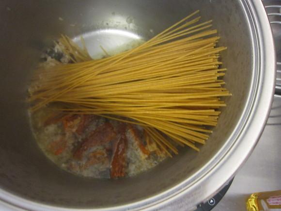 最高級の鍋で作ったイタリアン_c0125702_1284069.jpg