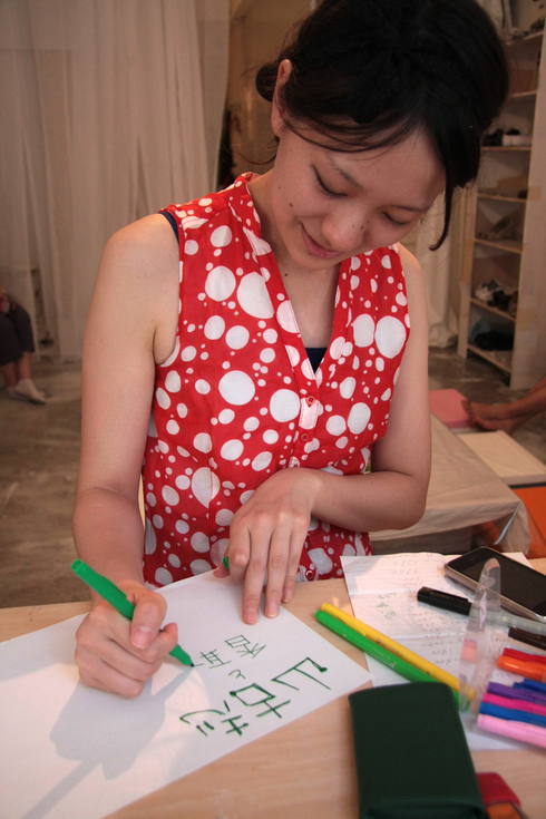 7/16-18 Creative Hub 131 Opening  1st DAY_a0184716_2354150.jpg