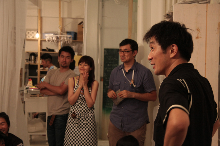 7/16-18 Creative Hub 131 Opening  1st DAY_a0184716_236319.jpg