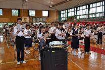 川内小学校卒業式_d0003224_11484183.jpg