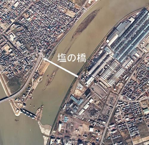 新潟電鉄物語の軽金前停留場と塩の橋・・・・・・_d0178825_1136354.jpg