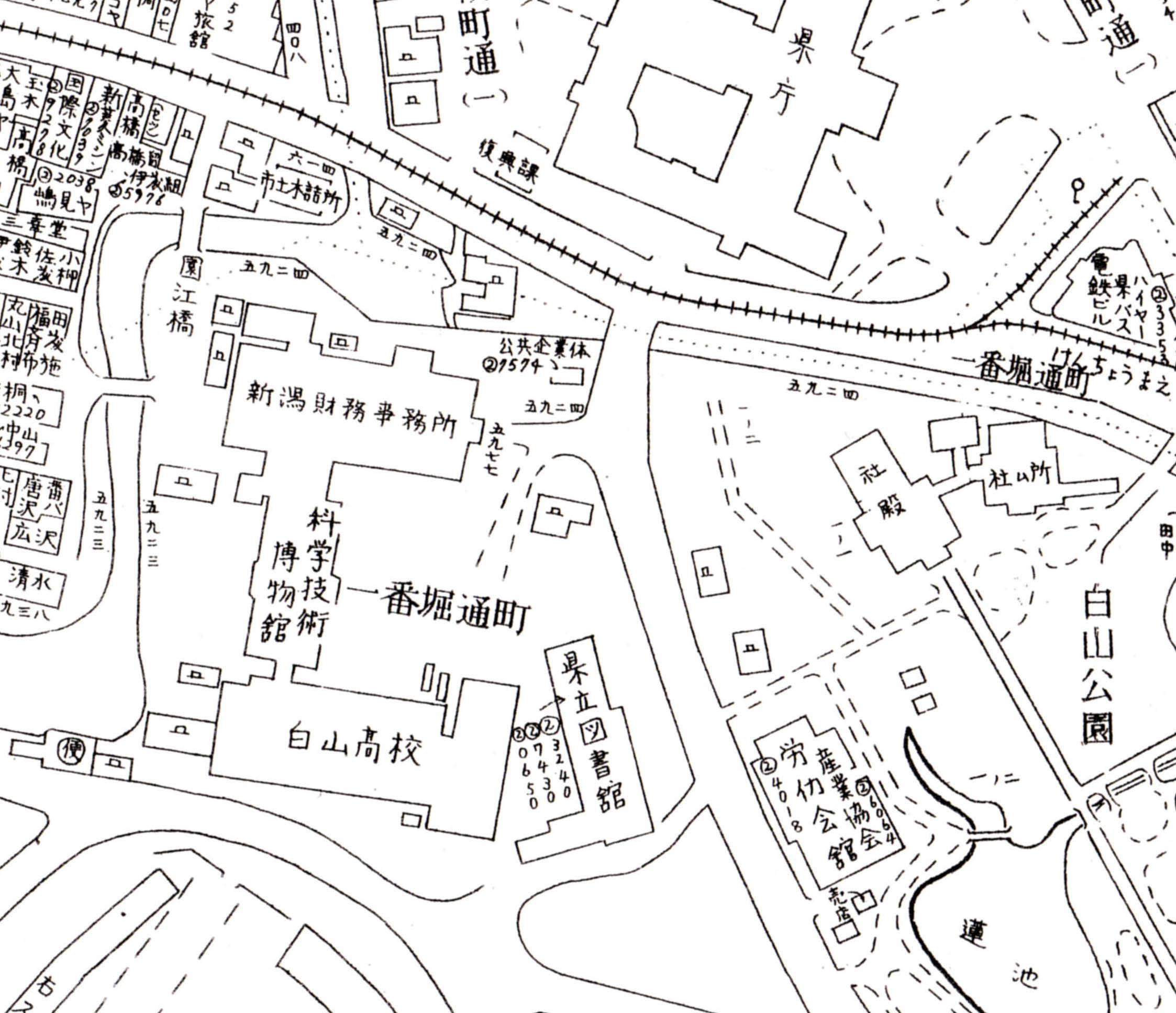 新潟電鉄物語の軽金前停留場と塩の橋・・・・・・_d0178825_18235876.jpg
