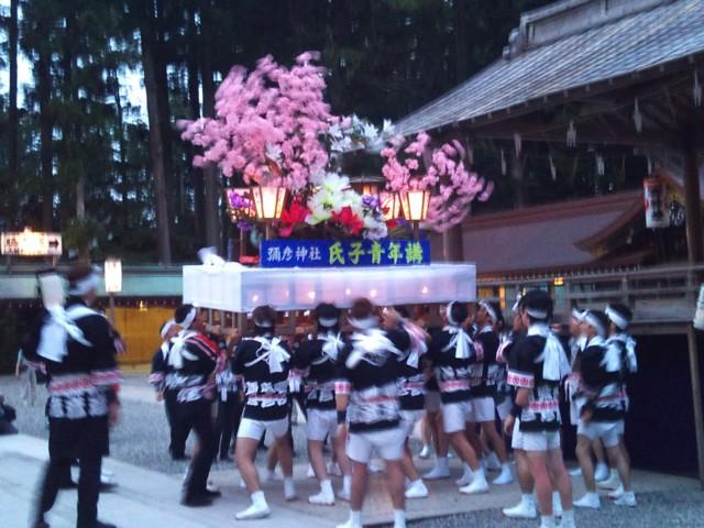 弥彦燈籠祭り_c0170940_1734799.jpg