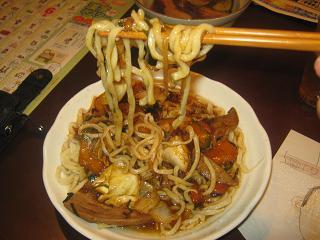 麺打ち→自作スタミナ_a0139242_191332.jpg