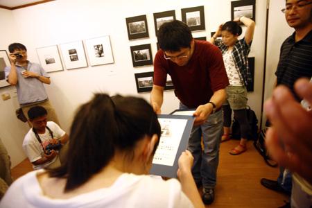 第一回卒業生展『中村一門お披露目会』終了しました。_e0158242_2061974.jpg