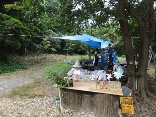 「うみべの森で竹工作…竹笛3種類 他」_c0108460_20315175.jpg