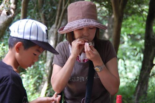「うみべの森で竹工作…竹笛3種類 他」_c0108460_20553185.jpg