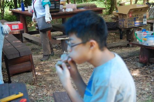 「うみべの森で竹工作…竹笛3種類 他」_c0108460_2057129.jpg