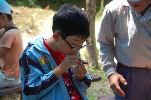 「うみべの森で竹工作…竹笛3種類 他」_c0108460_20573588.jpg