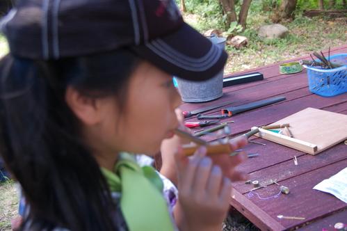 「うみべの森で竹工作…竹笛3種類 他」_c0108460_20584356.jpg