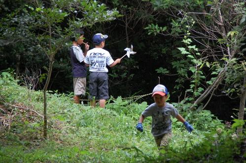 「うみべの森で竹工作…竹笛3種類 他」_c0108460_210088.jpg