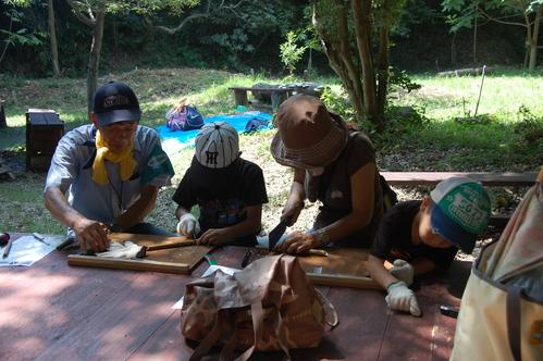 「うみべの森で竹工作…竹笛3種類 他」_c0108460_212429.jpg