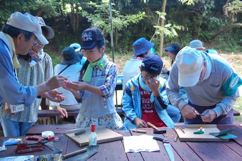 「うみべの森で竹工作…竹笛3種類 他」_c0108460_2133555.jpg
