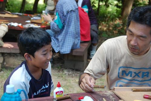 「うみべの森で竹工作…竹笛3種類 他」_c0108460_214558.jpg