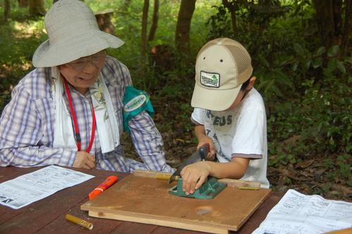 「うみべの森で竹工作…竹笛3種類 他」_c0108460_214579.jpg