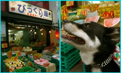 スイカ・ジェラートを、昭和レトロが残る広尾商店街へ。_e0236072_23333754.jpg