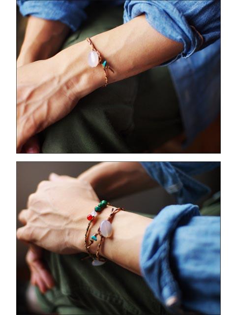 27/9 Natural stone Turquoise bracelet [天然石ターコイズブレスレット] MEN\'S_f0051306_16594415.jpg