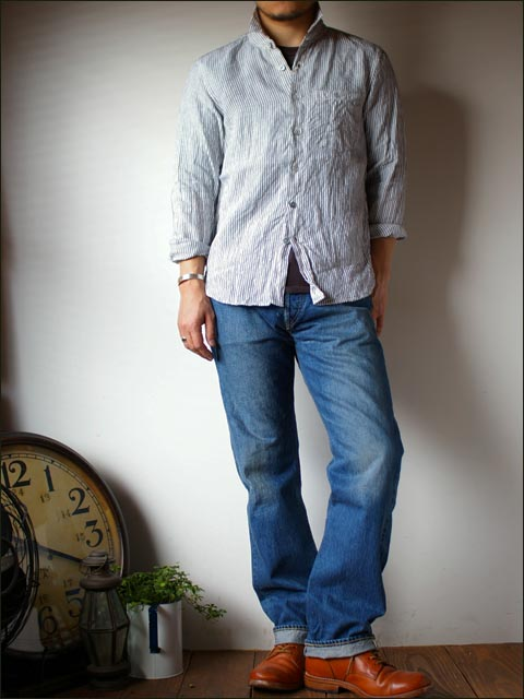 orslow[オアスロウ] ORIGINAL STANDARD 5POCKET PANTS  13.5oz ORIGINARL selvedge denim 2year wash_f0051306_1755461.jpg