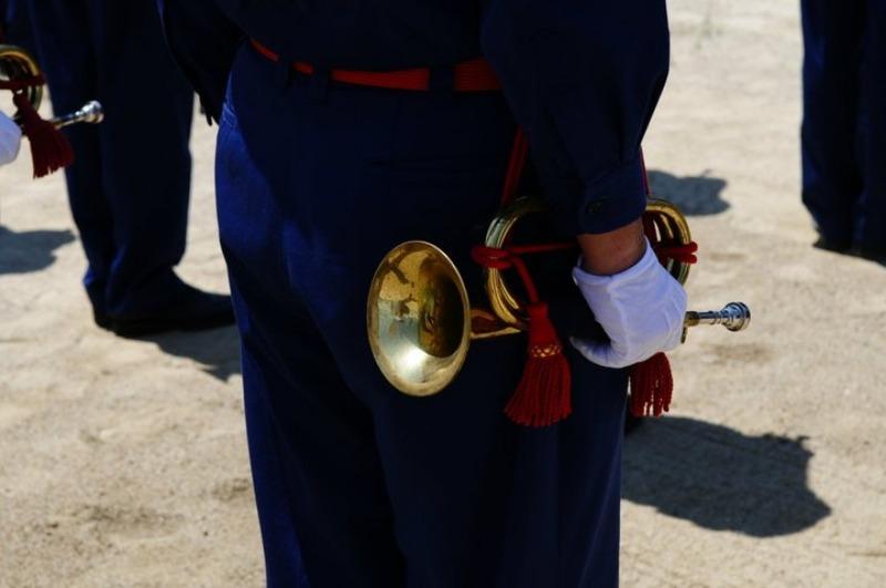 佐賀県消防操法大会で、武雄市消防団ラッパ隊は、_d0047811_22252385.jpg