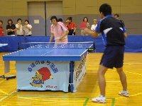 池田市レディス卓球講習会_c0133422_2352219.jpg