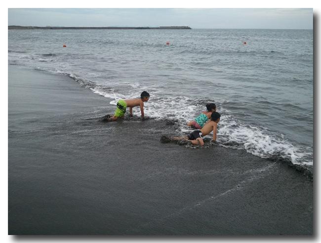 今年も番場浦海岸へ! 磯遊びのあとは平塚ビーチパークで海水 ...