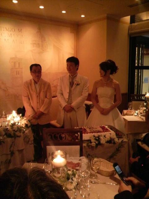 「井沢どんすけ」結婚パーティー!!_a0202385_12405937.jpg