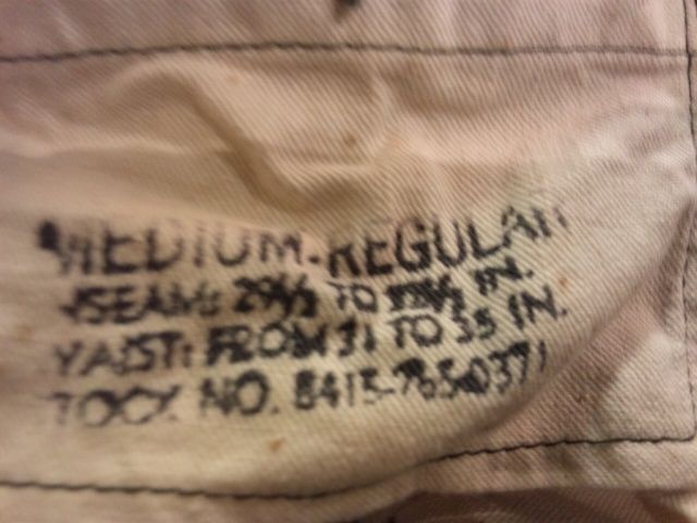 2本目のストックにも最適です!U.S.Army M-51 Trousers(大阪アメ村)_c0078587_23502296.jpg