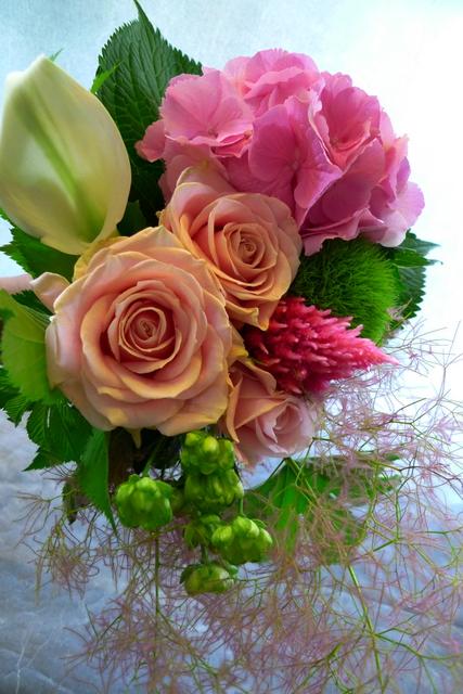 送別用花束3種。_b0171193_22301677.jpg
