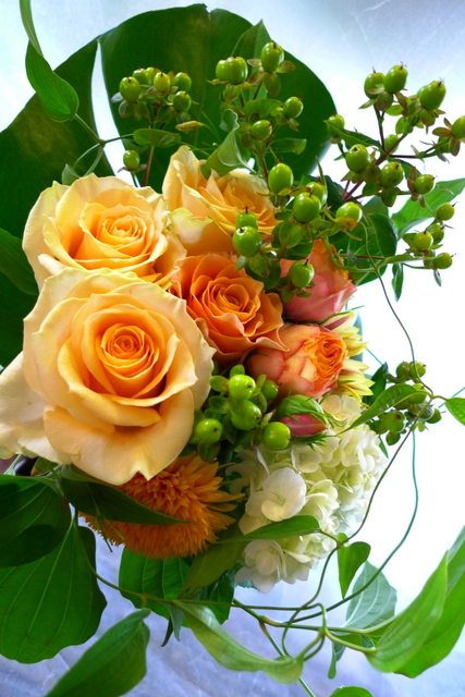 送別用花束3種。_b0171193_22302426.jpg