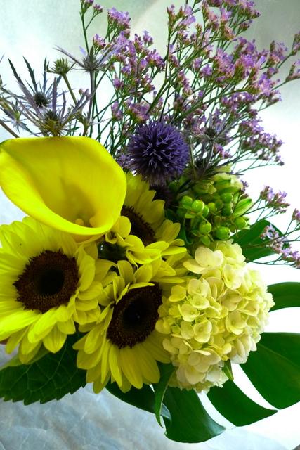 送別用花束3種。_b0171193_2230422.jpg